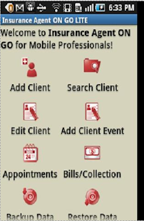 Insurance Agent ON GO Mobile App
