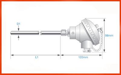 thermocouple temperature sensor probe