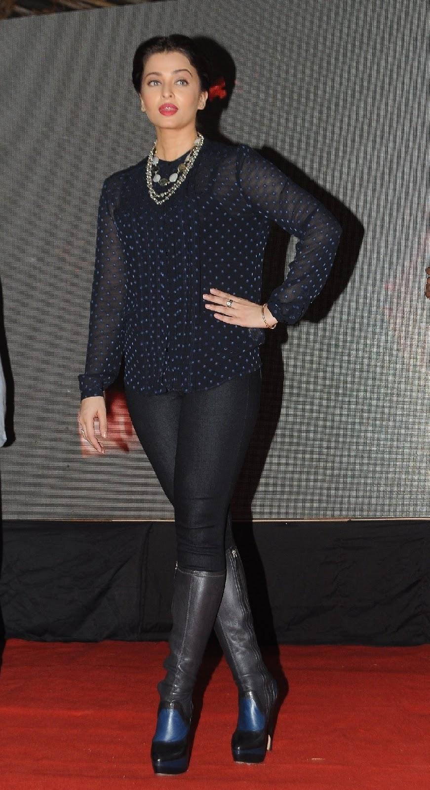 Aishwarya Rai Latest Photos In Blue Dress