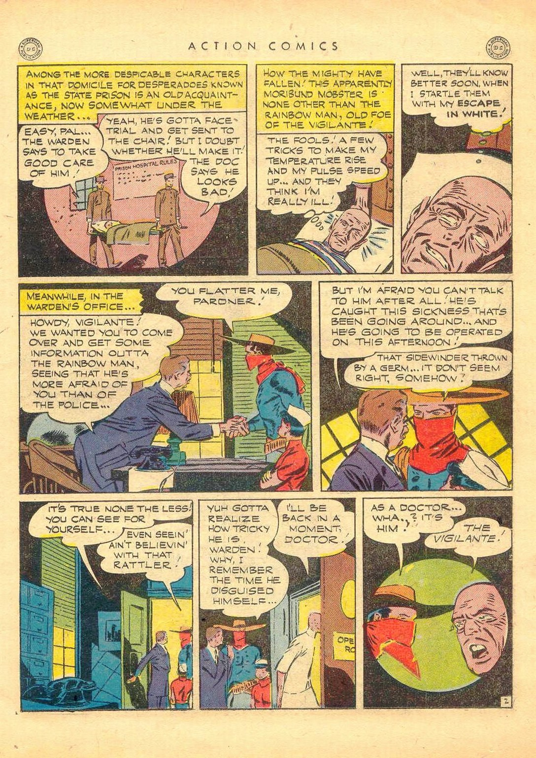 Read online Action Comics (1938) comic -  Issue #77 - 22