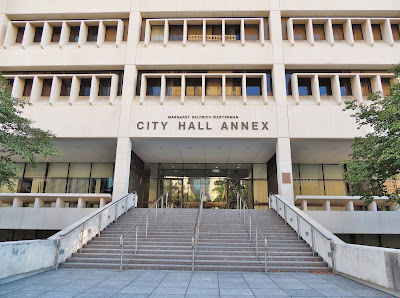 City of Houston - City Hall Annex on Bagby