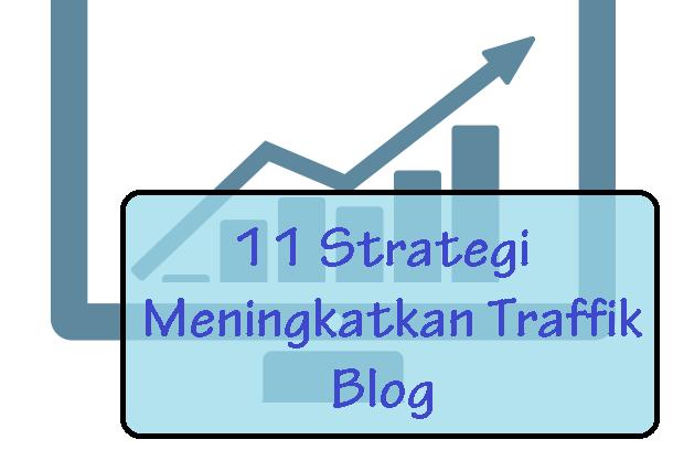 Strategi Meningkatkan Traffik Blog Dengan Mudah