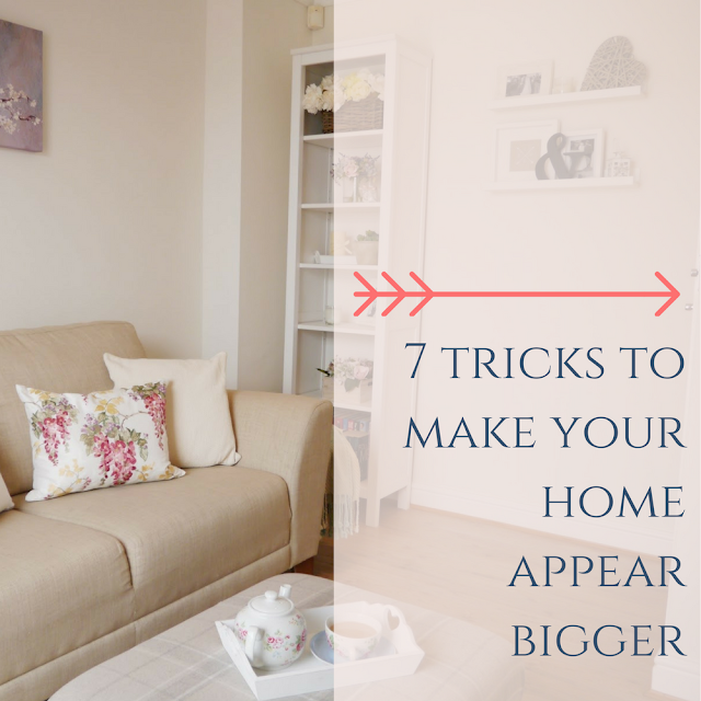 Tricks to make your small home and rooms look bigger, including ideas on how to maximise space, paint colour to choose, clever storage ideas, and ways to trick the eye into making a room appear bigger