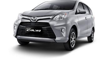 Toyota Calya Warna Silver Mica Metallic