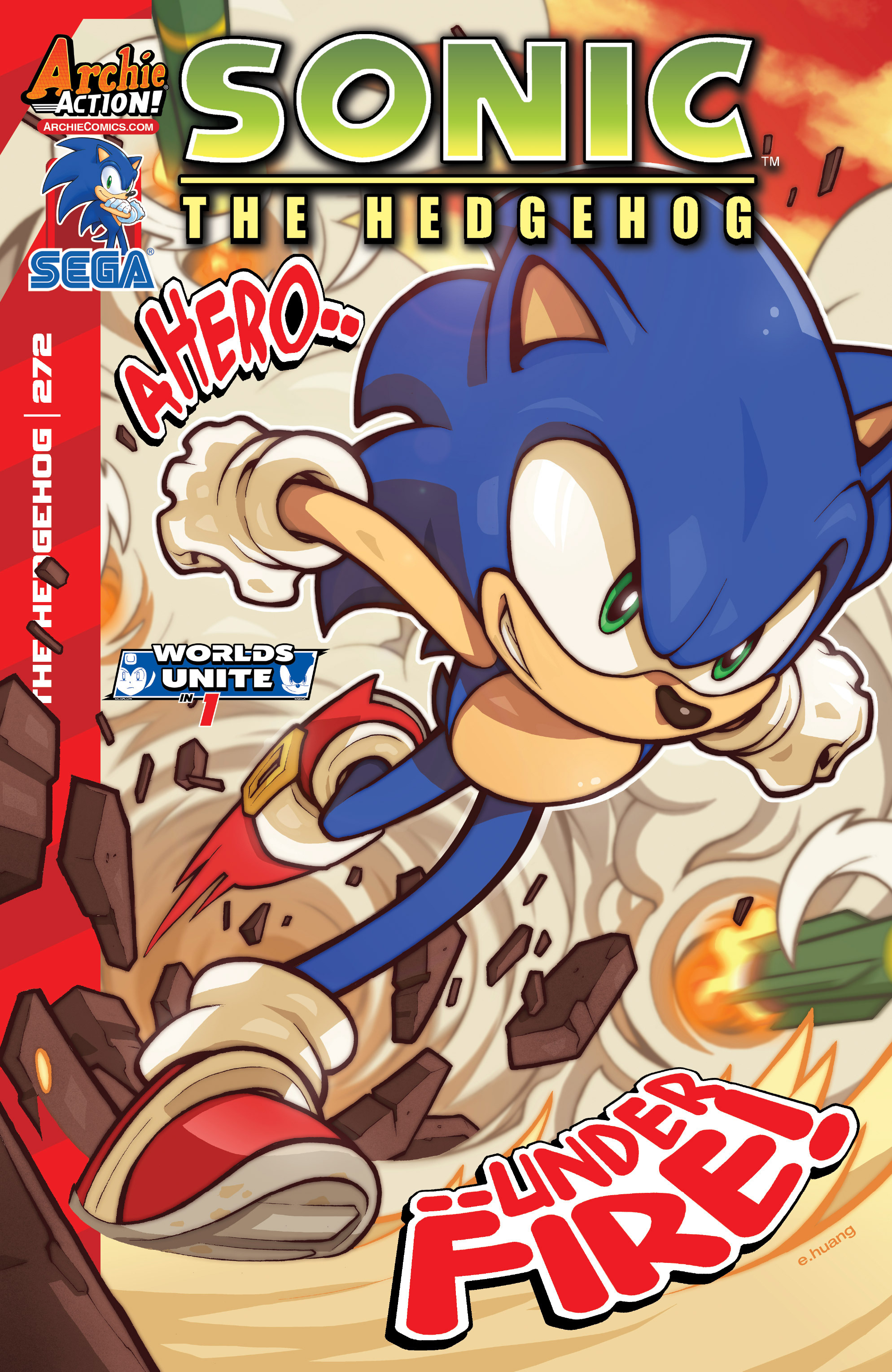 Sonic The Hedgehog (1993) 272 Page 1