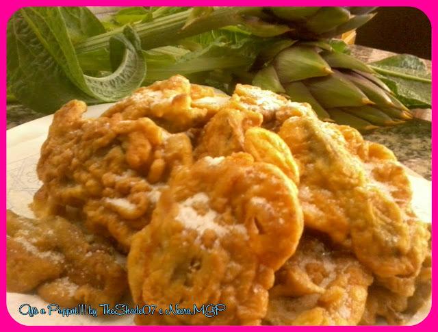 Foto della ricetta delle Dolci frittelle di carciofi