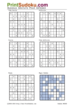 pdf gratuits livres gratuits de sudoku tous niveaux pdf. Black Bedroom Furniture Sets. Home Design Ideas