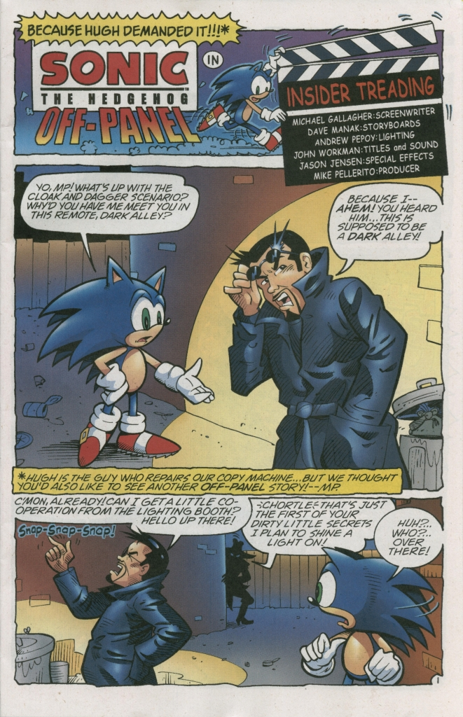 Read online Sonic The Hedgehog comic -  Issue #158 - 29