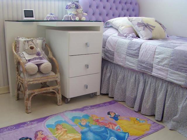 Dormitorios princesas for Habitaciones infantiles disney