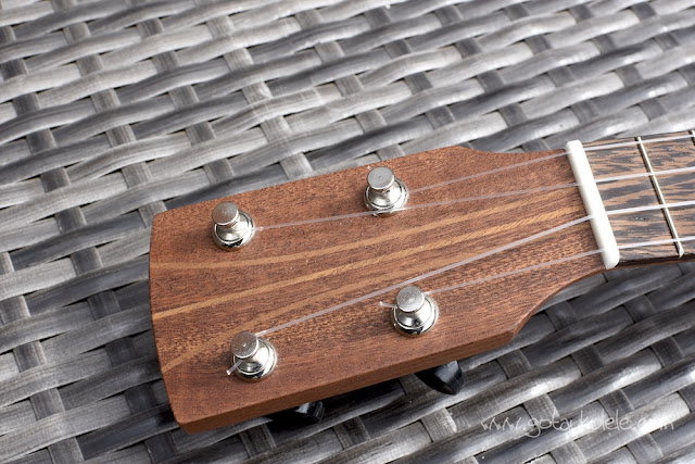 DJM Mini Pineapple Ukulele headstock