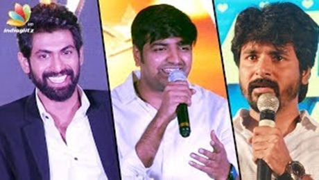 I scolded Sivakarthikeyan a lot before meeting him : Sathish Speech, Sivakarthikeyan, Rana Daggubati