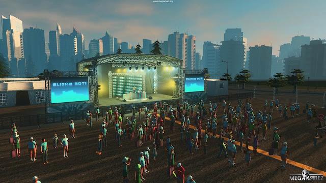 Cities Skylines Concerts pc imagenes