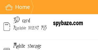 Hidden or retrieve files