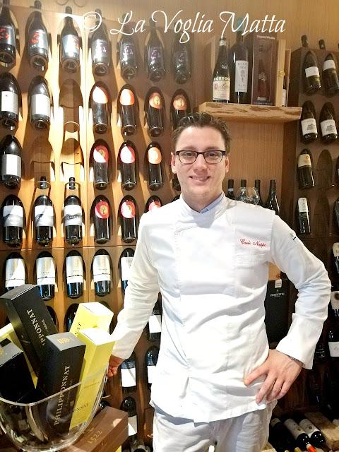 """""""Podere dell'Angelo"""" a Pasiano di Pordenone chef Carlo Nappo"""