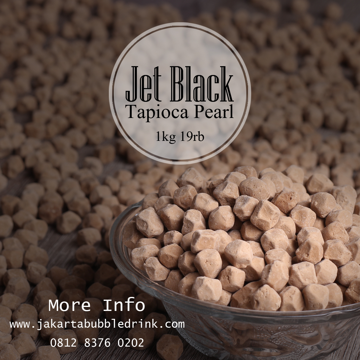Supplier Distributor Agen Toko Bubuk Minuman Bubble Drink Jual Tapioca Pearl
