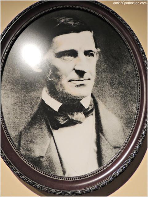 Museo de Concord: Ralph Waldo Emerson