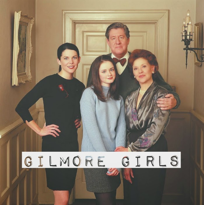gilmore girls, lorelai, rory, emily, richard