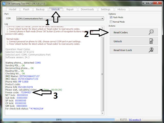 Cara Unlock Password Telepon Terkunci di SAMSUNG Lipat Caramel GT-E1272