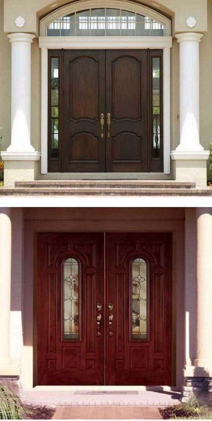 pintu depan rumah modern 4