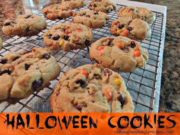 Halloween Cookies and Gift Jar Idea