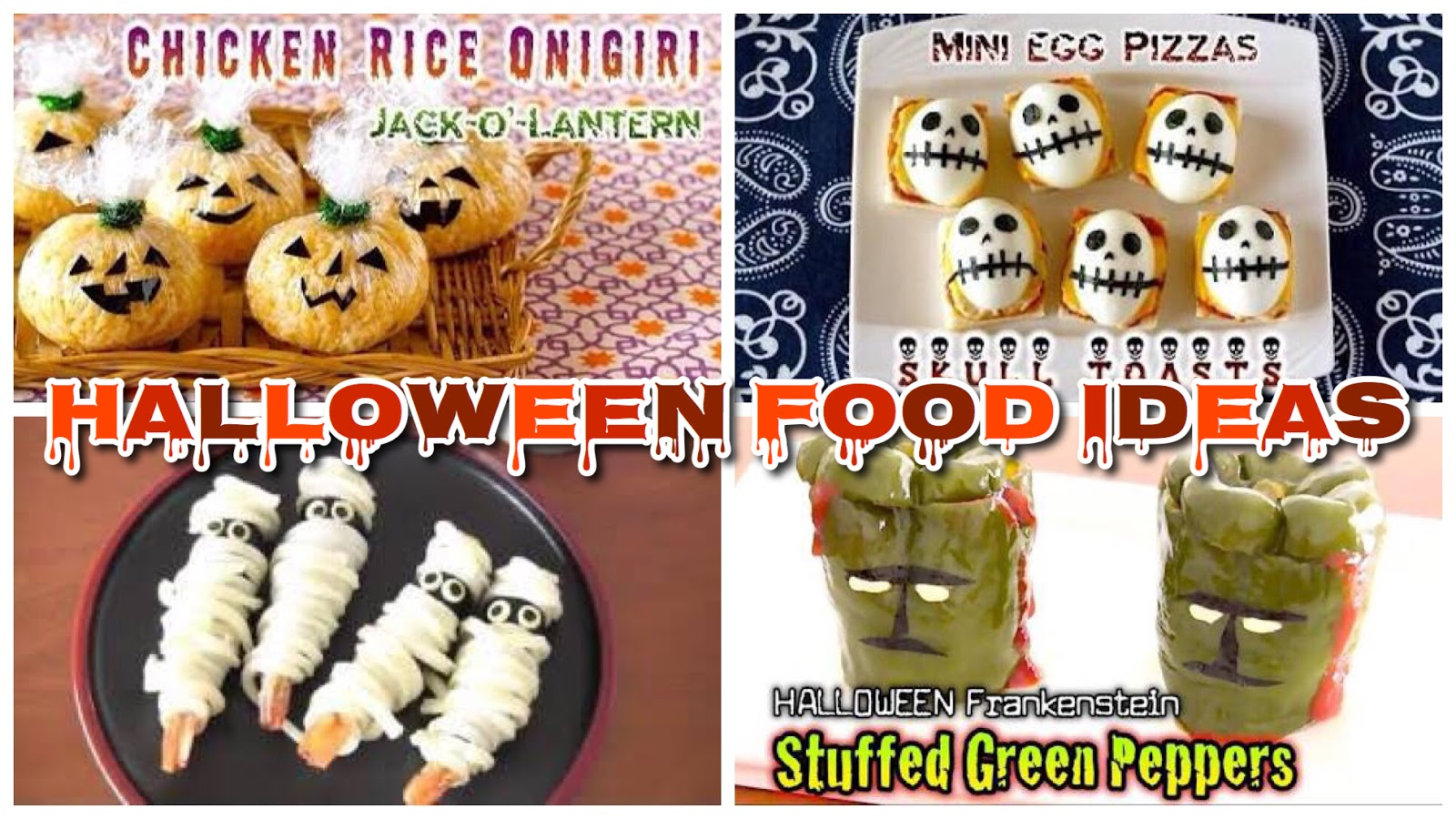 11 Halloween Party Food Ideas Cute And Easy Recipes Ochikeron