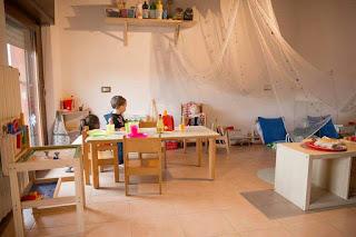 ambiente montessori educazione bambini