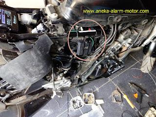 Cara pasang alarm motor Suzuki GSX s150