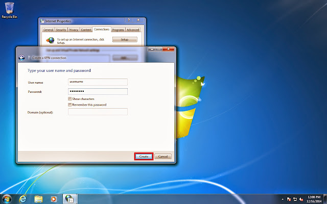 Tutorial lengkap setting VPN Server di Windows 7