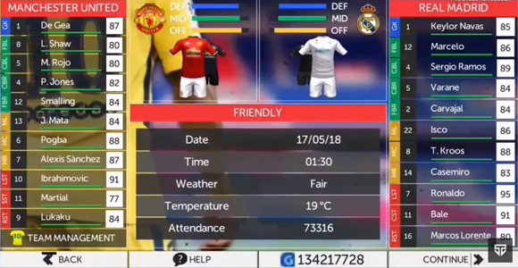 FTS 19 Mod PES 2019 Apk for Android
