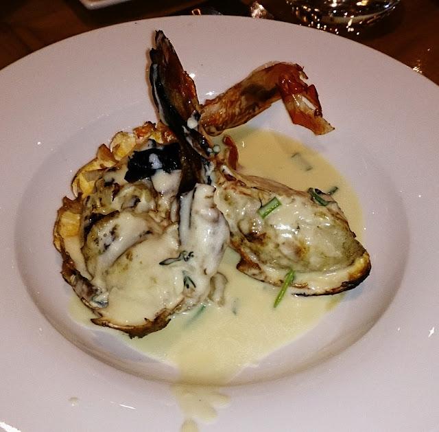 Melba, Langham Hotel, lobster