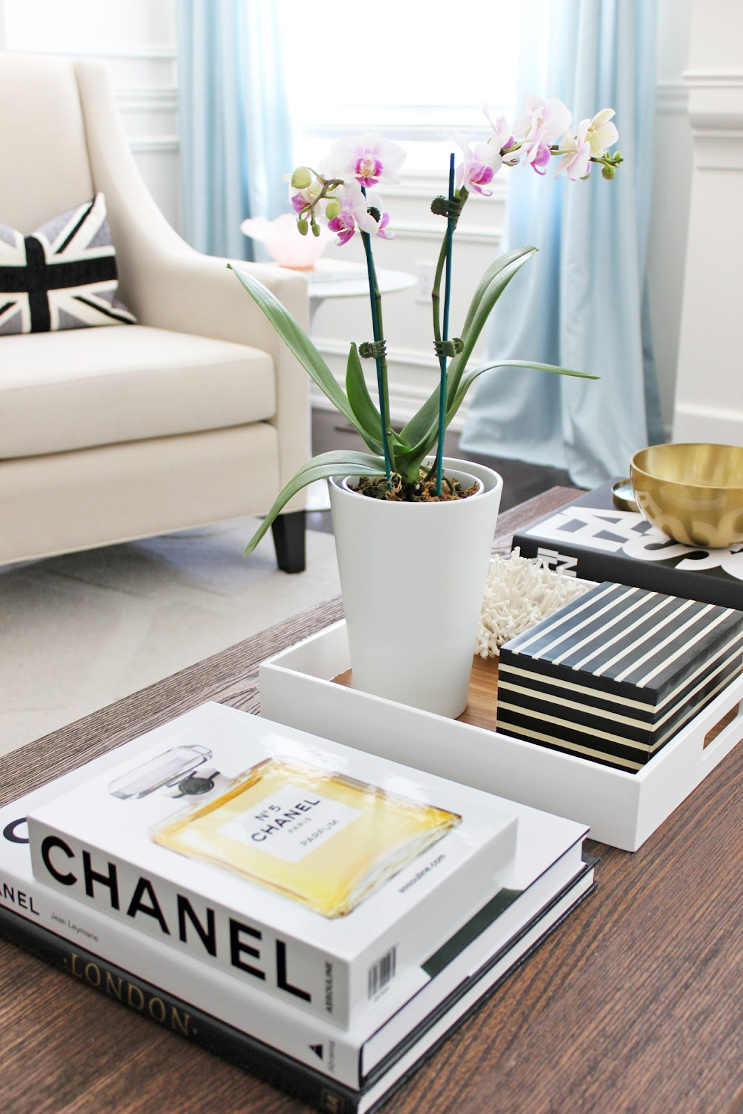 AM Dolce Vita: Chanel and Phalaenopsis Orchid