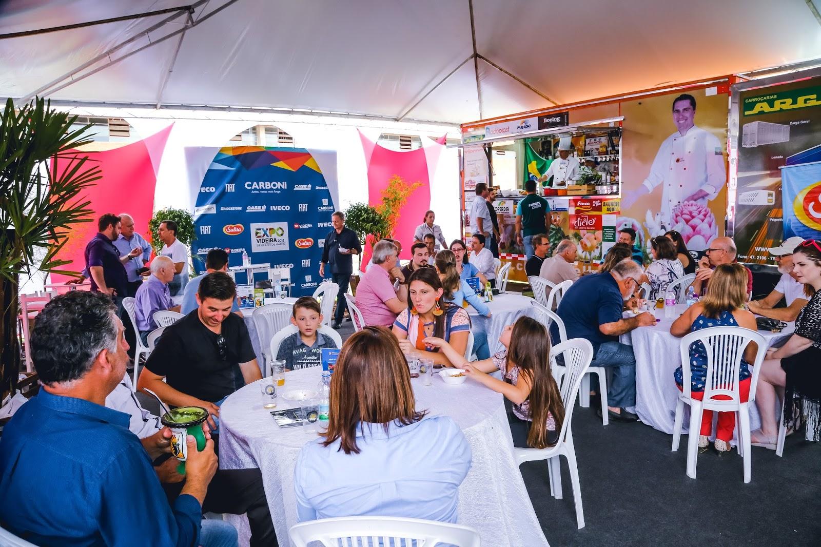 Carboni comercializa mais de 50 produtos na Expo Videira 2018 IMG 5334