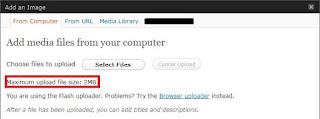 Increase Max File Upload Size In Wordpress