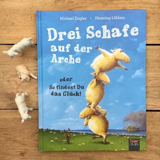 Drei Schafe auf der Arche 3 Wollregeln zum Überleben 360Grad Verlag Bilderbuch Tigerstern