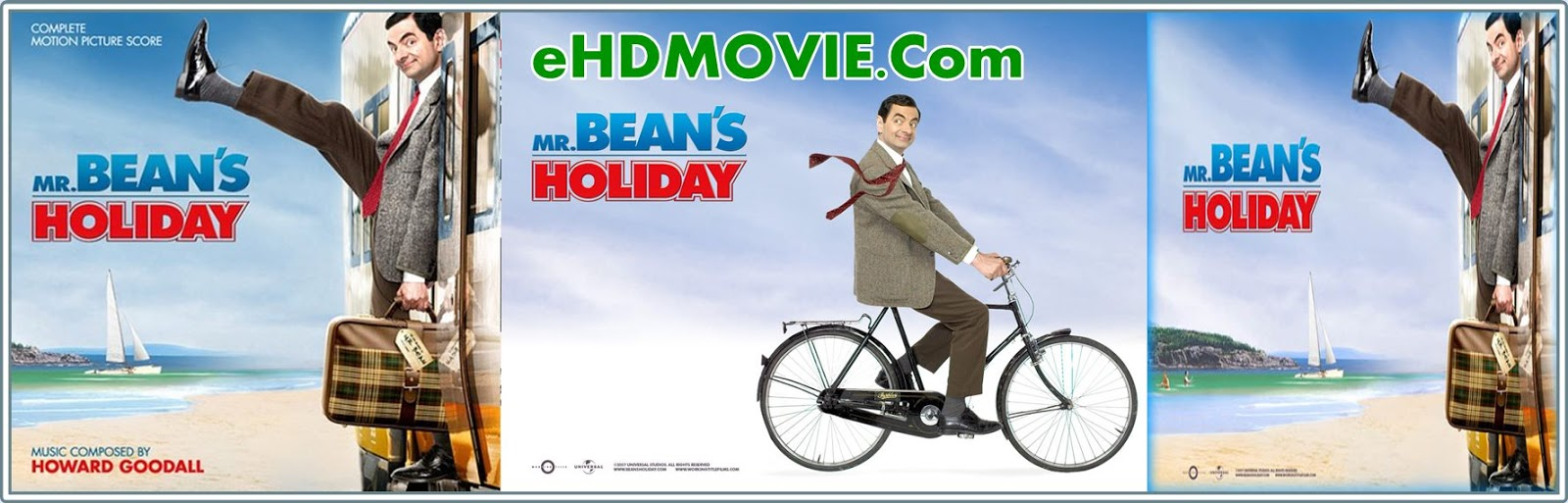 Mr. Bean's Holiday 2007 Full Movie Dual Audio [Hindi – English] 720p - 480p ORG BRRip 300MB - 750MB ESubs Free Download