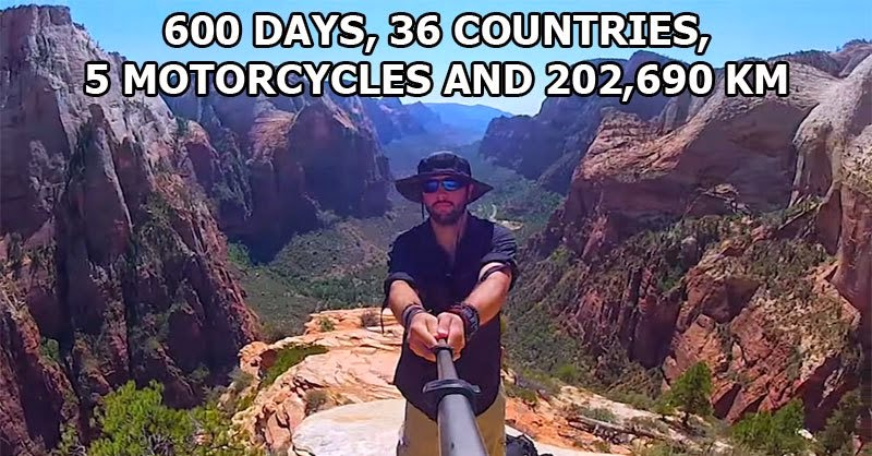 This Guy's Epic 600-Day Trip Around The World Makes Me Rethink My Whole Existence
