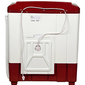 Best Intex 6.2 kg semi automatic washing machine back