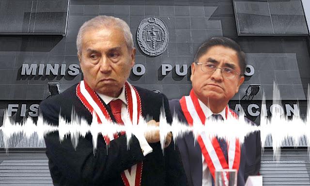 Nuevo audio de Hinostroza con fiscal de la Nación Pedro Chávarry