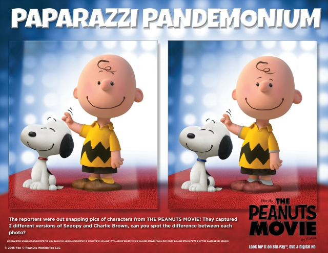 Oz the Terrier The Peanuts Movie Paparazzi Pandemonium