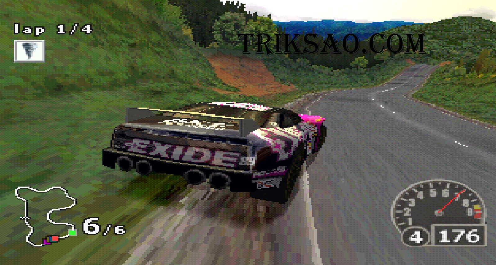 Download Nascar Rumble PS1 For PC - Triksao