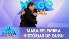Mara Maravilha vai às lágrimas ao relembrar amizade de Gugu no Domingo Legal (24/11/19)
