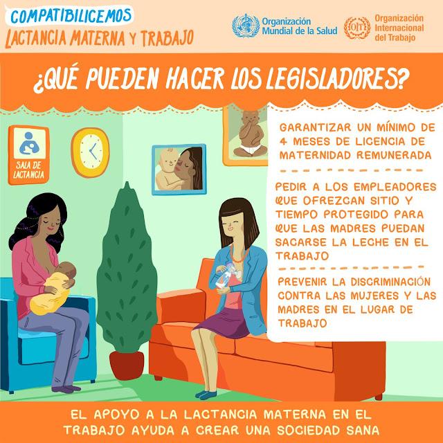 """Alt=""""Mujeres que se extraen leche materna en un baño"""""""