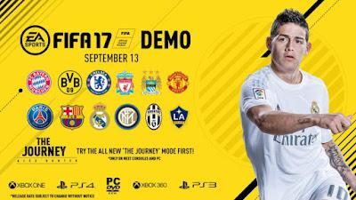 [PC DVD] FIFA 17 DEMO - RELEASED 13/09/2016