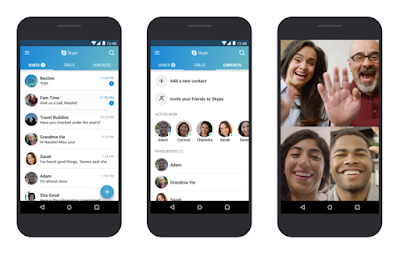 New Skype app version now optimized for lower Android devices