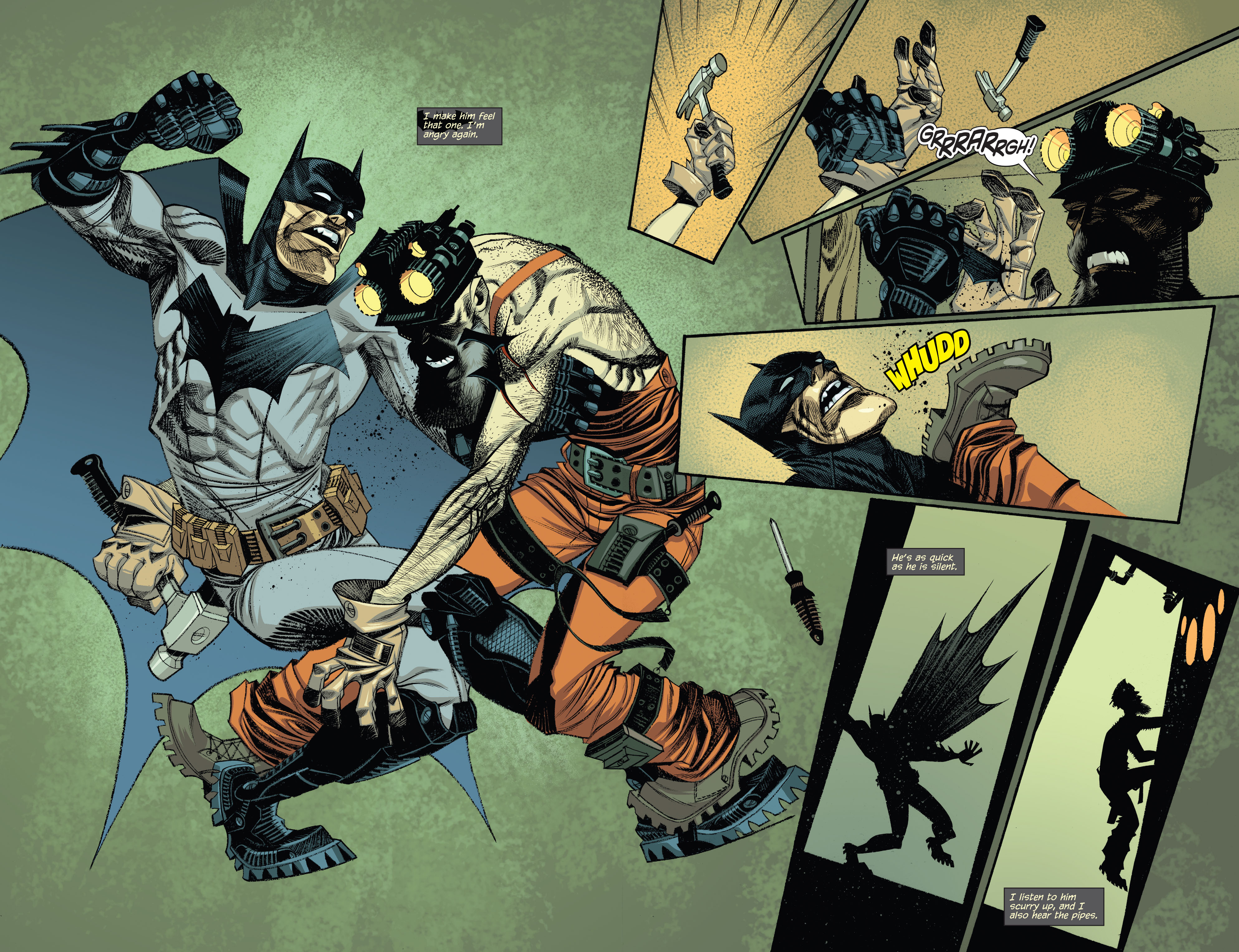 Read online Arkham Manor comic -  Issue #5 - 7