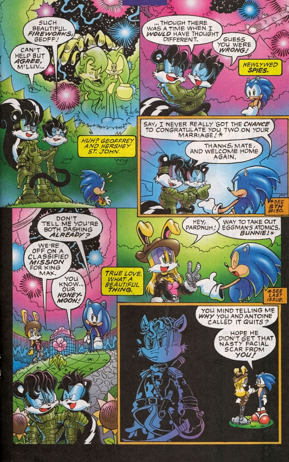 Read online Sonic The Hedgehog comic -  Issue #134 - 19