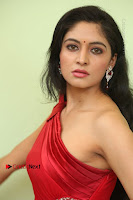 Actress Zahida Sam Latest Stills in Red Long Dress at Badragiri Movie Opening .COM 0074.JPG