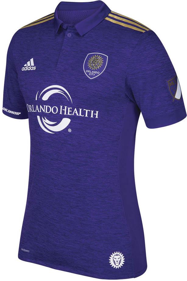 bbd0148907 Adidas lança a nova camisa titular do Orlando City para a MLS 2017 ...