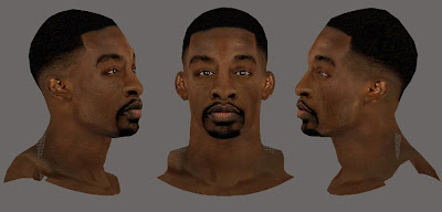 2K Jeff Green Realistic Face HD