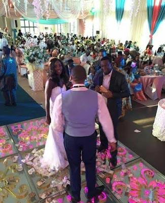 Aww! Photos of Kalu Ikeagwu's white wedding in Enugu